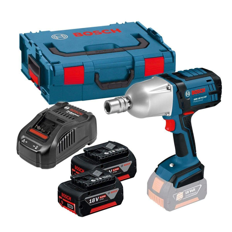 Bosch Heavy-Duty Air Wrench Including Batteries and Case. For sale at Farmability South Africa