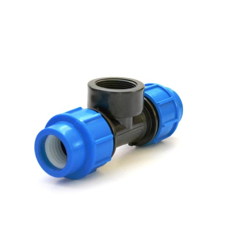 Irrigation Fittings - Female Tee Compression. For sale at FarmAbility South Africa