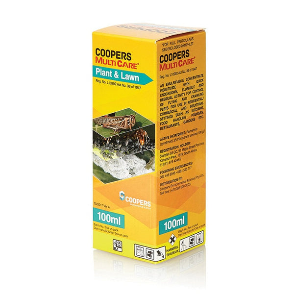 Coopers Multicare - Plant and Lawn 100ml - FarmAbility