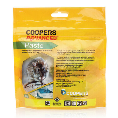 Coopers Rat Poisons - Paste. For sale at Farmability South Africa