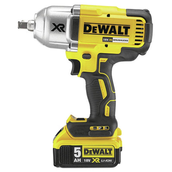 DeWALT 18 Volt 5.0AH High Torque Cordless Impact Wrench. For sale at FarmAbility South Africa