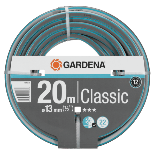 Gardena Classic Hose Half Inch - No Fittings