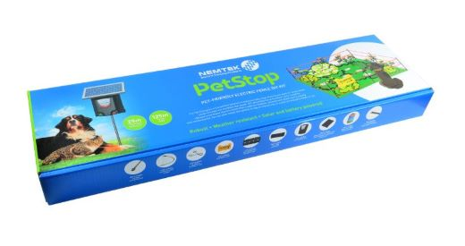 Nemtek Pet Stop Kit - Solar Powered Including Battery. For sale at FarmAbility South Africa
