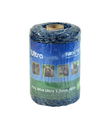 Nemtek Poly Wire Ultra Mix 9 - 3.5mm - FarmAbility