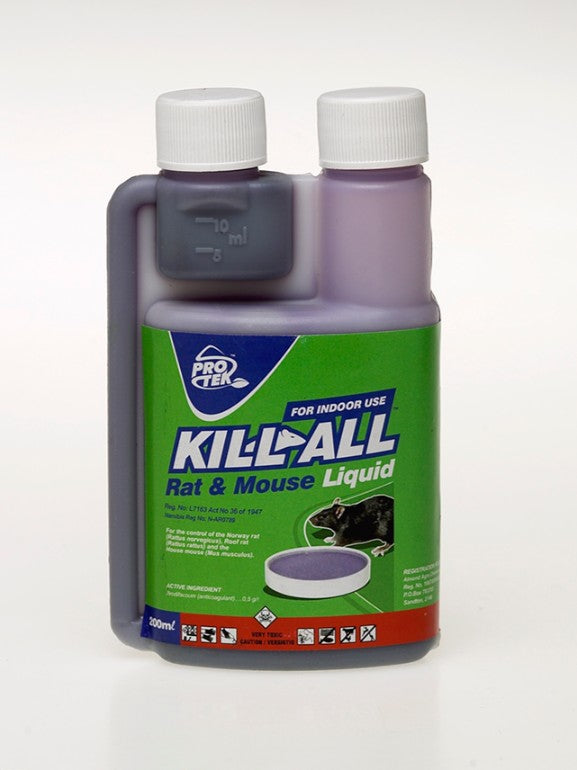 Protek Kill All Liquid Bait - 200ml - FarmAbility