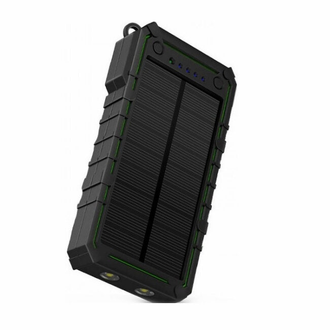 Surviva Portable Solar Power Bank with Flashlight - FarmAbility
