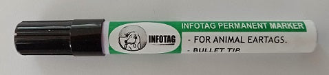 INFOTAG - Tag Marking Pen Black - FarmAbility