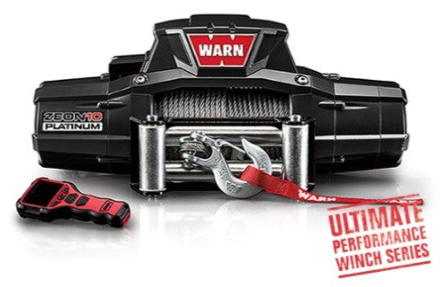 Warn Zeon Platinum 12V Winch - 10000LB