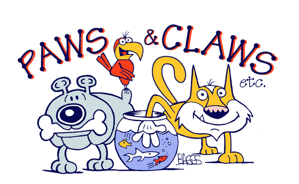 Paw and Claws logo
