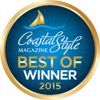 Coastal Style Magazine Best Of Winner 2015