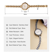 Classic Sk Quartz Watch - Famous Brands Ladies Casual Style Wristwatch for Women - Ritzy Jewelry