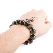Mofrogo Natural Handmade High Quality Buddhist Beads Bracelet for Men's By Ritzy - Ritzy Jewelry