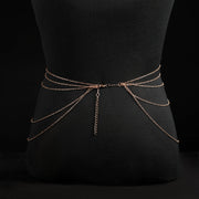 Fervid Belly Body Chain - Spring Summer Beach Accessories Waist Body Belt Chain for Women - Ritzy Jewelry