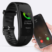 Tenacious Bluetooth Smart Watch Sports Bracelet Fitness Waterproof GPS Blood Pressure Smart Wristband For iPhone Android Phone Men Women by Ritzy - Ritzy Jewelry