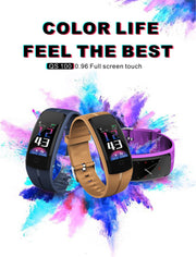 Tenacious Bluetooth Smart Watch - Sports Bracelet Fitness Waterproof GPS Blood Pressure Smart Wristband For iPhone Android Phone Men Women - Ritzy Jewelry