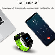 Precision Professional Sport Smart Watch - Waterproof 2.5D Full Color Screen Heart Rate Blood Pressure Fitness Bracelet For Mens - Ritzy Jewelry