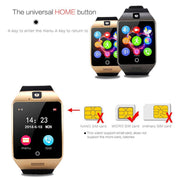 Top Smartwatch Support Sim TF Card Phone Call Push Message Camera Bluetooth Connectivity For IOS Android Phone - Ritzy Jewelry