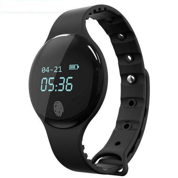 Affordable Fitness Smart Watch - Waterproof Wristband SMS QQ Pedometer Sports Smartwatch - Ritzy Jewelry