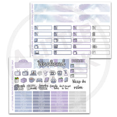Vertical PRINTABLE Kit: Blast Off