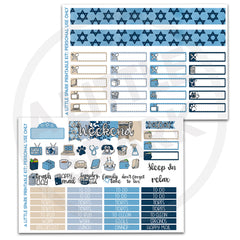 Vertical PRINTABLE Kit: Hanukkah