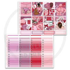 Vertical PRINTABLE Kit: Love Yourself