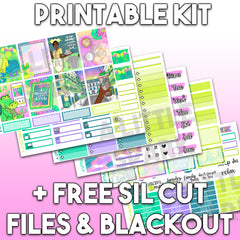 Vertical PRINTABLE Kit: Tiana