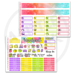 Vertical PRINTABLE Kit: Dawn