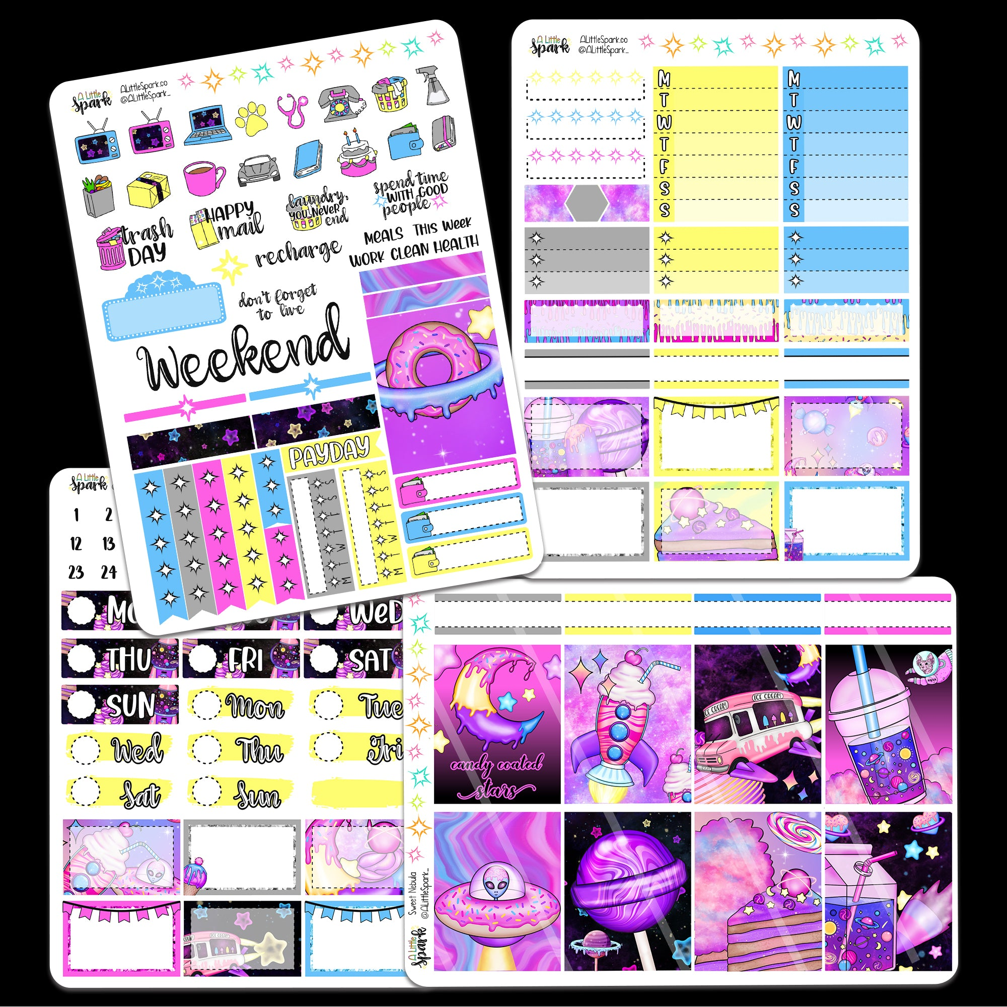 Birthday 4page Mini Kit