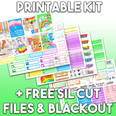 Vertical PRINTABLE Kit: Pride