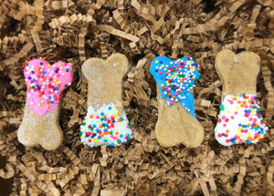 Half Dozen Treat Box (Dog Bone Shaped)