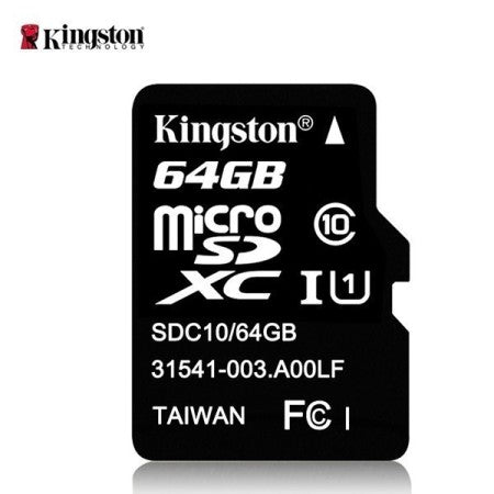 KINGSTON MICRO SDXC 64GT -MUISTIKORTTI CLASS10 - Verkkoexpress