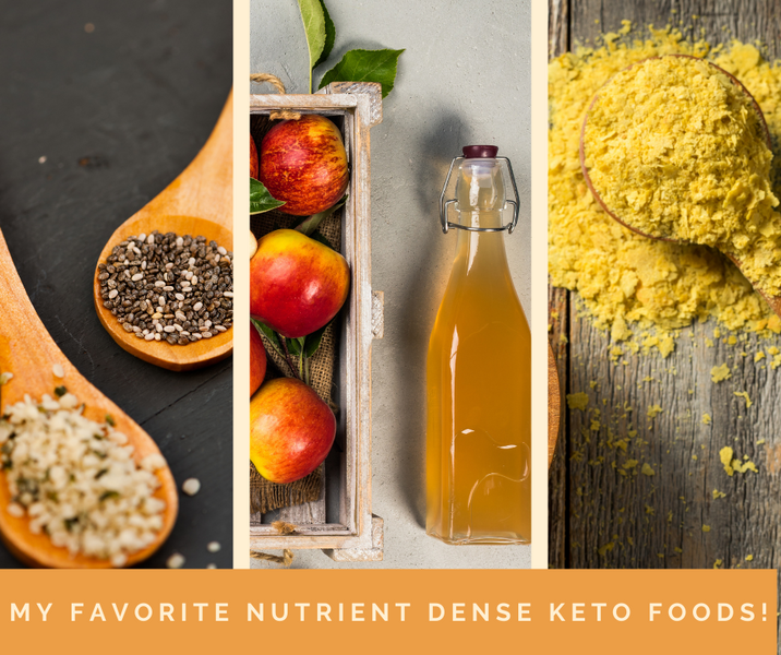 Motivational Monday: My Favorite Nutrient Dense Keto Foods!