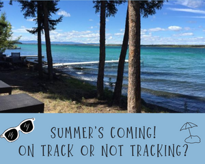 Motivational Monday: Summer's Coming!  On Track or Not Tracking?