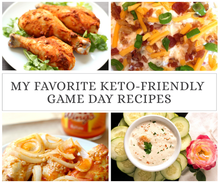 Keto-Friendly Game Day Recipes
