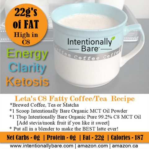 Leta's C8 Fatty Cofee Recipe