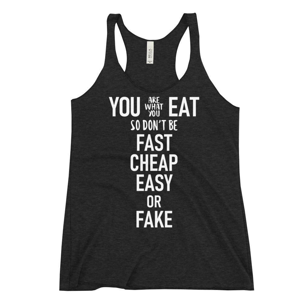 Women's Racerback Tank - Fast cheap easy