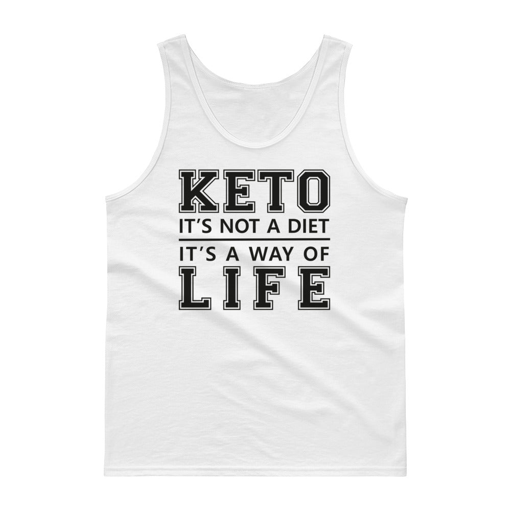 Unisex Tank top - Keto is a way of life