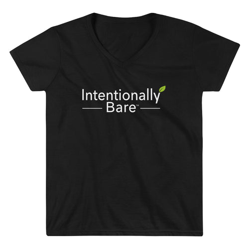Women's Casual V-Neck Shirt - Intentionally Bare