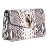 Natural Python Clutch With Snake Head