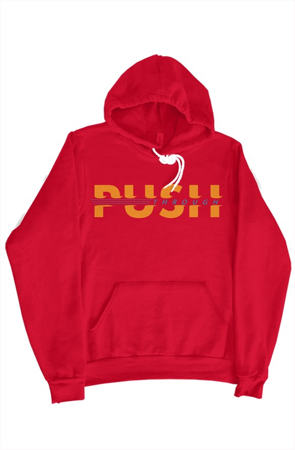 Push Through Hoodie (Red)