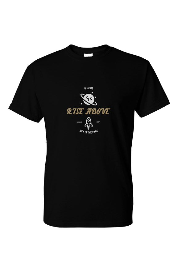 Guadua Rise Above Tee_Black