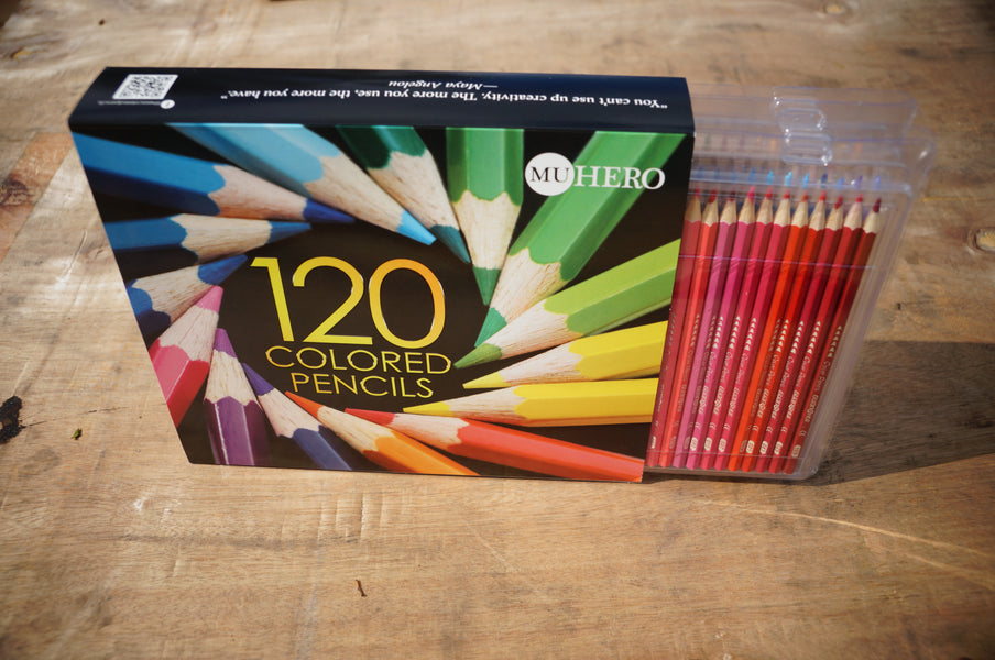 HERO Limited Edition 120 Colored Pencils — on sale for a limited time!