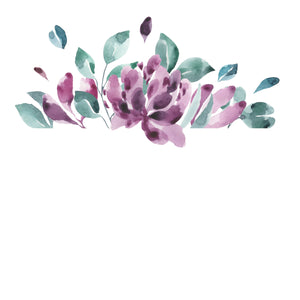 Watercoloring Book: Blossoms