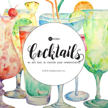 Watercoloring Book: Cocktails