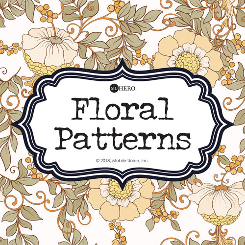 Coloring Book: Floral Patterns