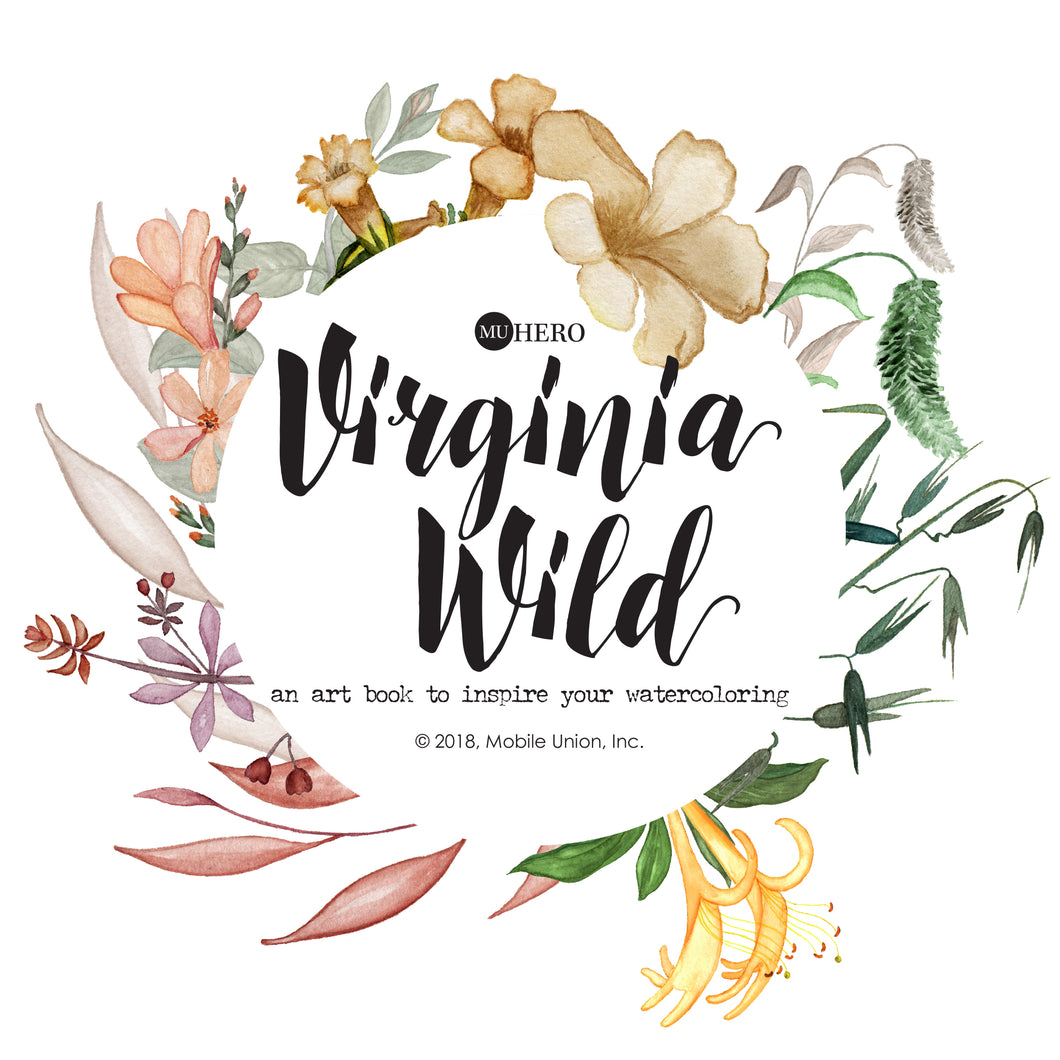 Watercoloring Book: Virginia Wild