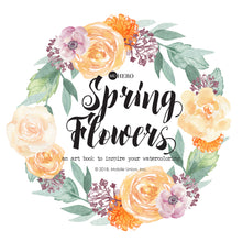 Watercoloring Book: Spring Flowers