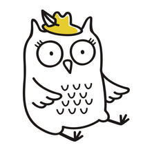 Coloring Book: Cute Owls