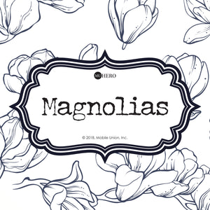 Coloring Book: Magnolias