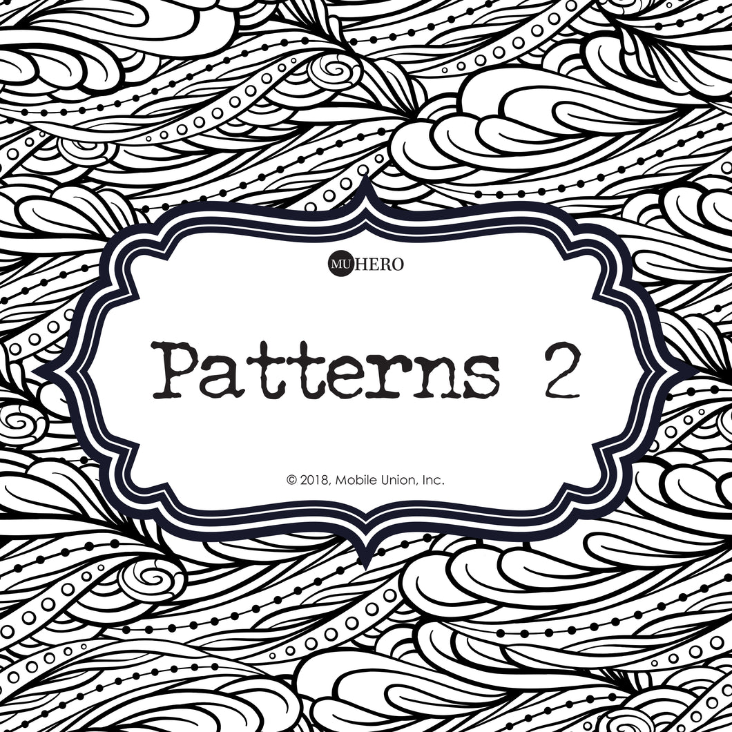 Coloring Book: Patterns 2